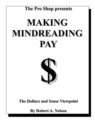 Making Mindreading Pay cover